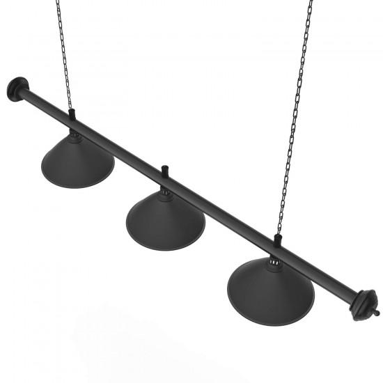 Φωτιστικό Μπιλιάρδου Strike Black Light Pool, 3πλό Αξεσουάρ Ανταλακτικά Μπιλ.